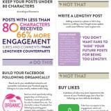 Infografía de Facebook: Qué hacer y no hacer en Facebook